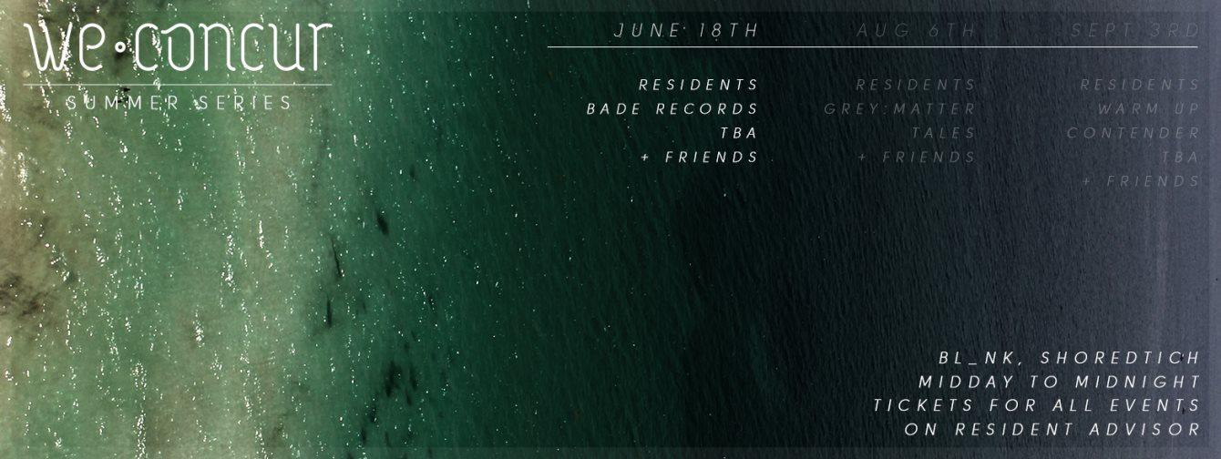 [CANCELLED] We Concur Summer Series Pt. 1 - Flyer back