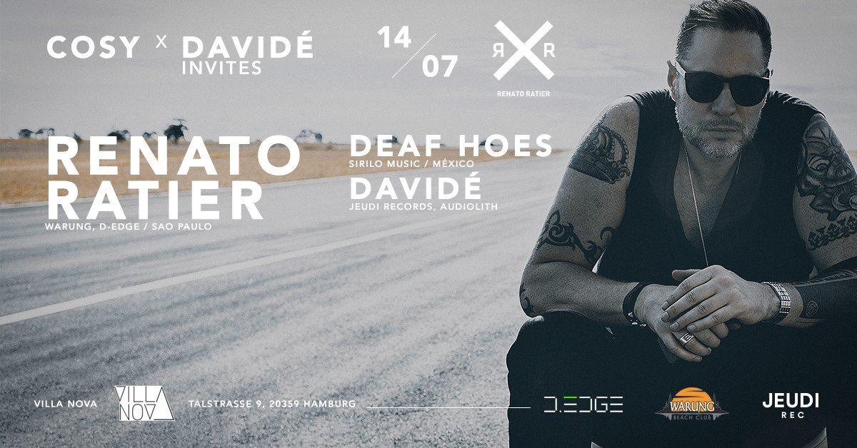 Cosy x Davide Invites - Flyer back