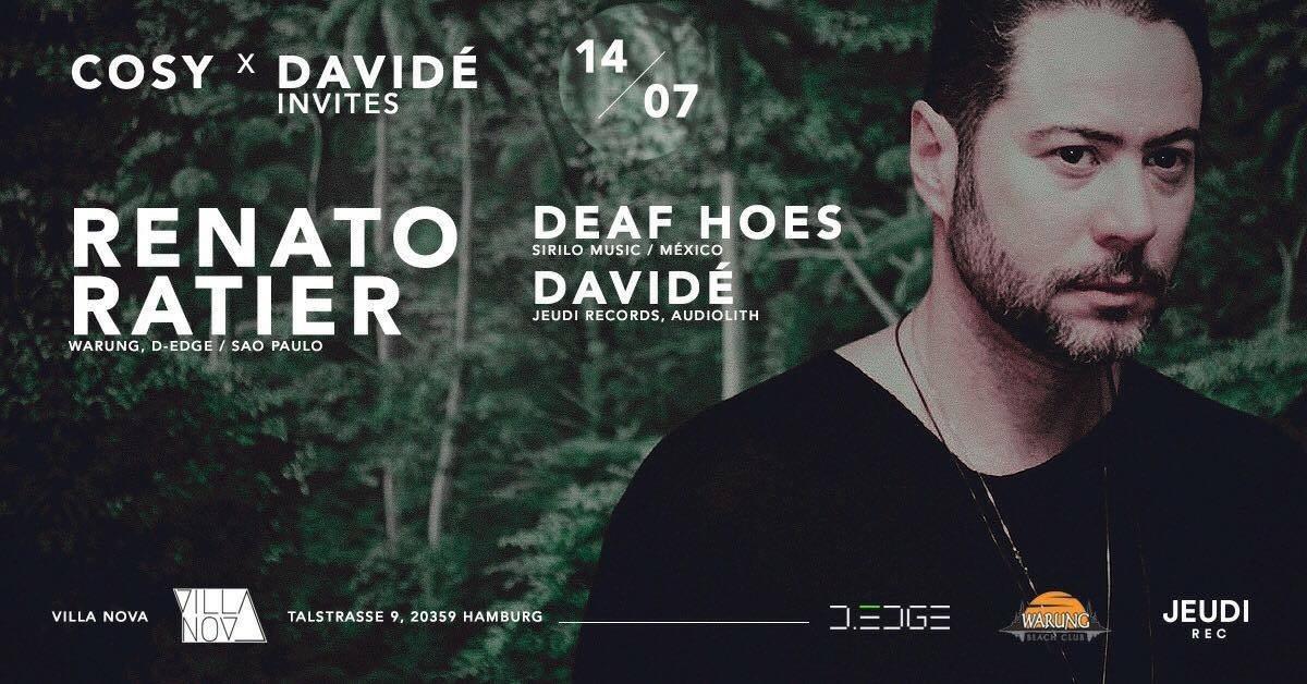 Cosy x Davide Invites - Flyer front