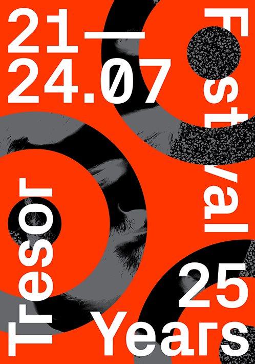 Tresor 25 Years Festival - Day 1 - Flyer front