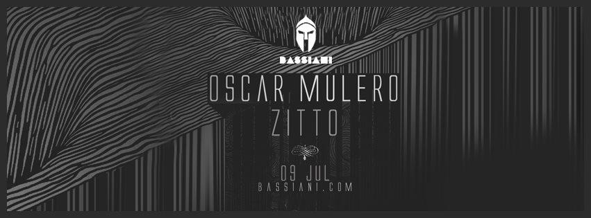 Oscar Mulero - Flyer front