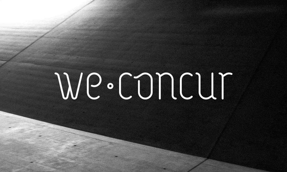 We Concur presents Oscar Mulero, Perc, Ø [Phase], Jonas Kopp, Jamie Haus - Flyer front