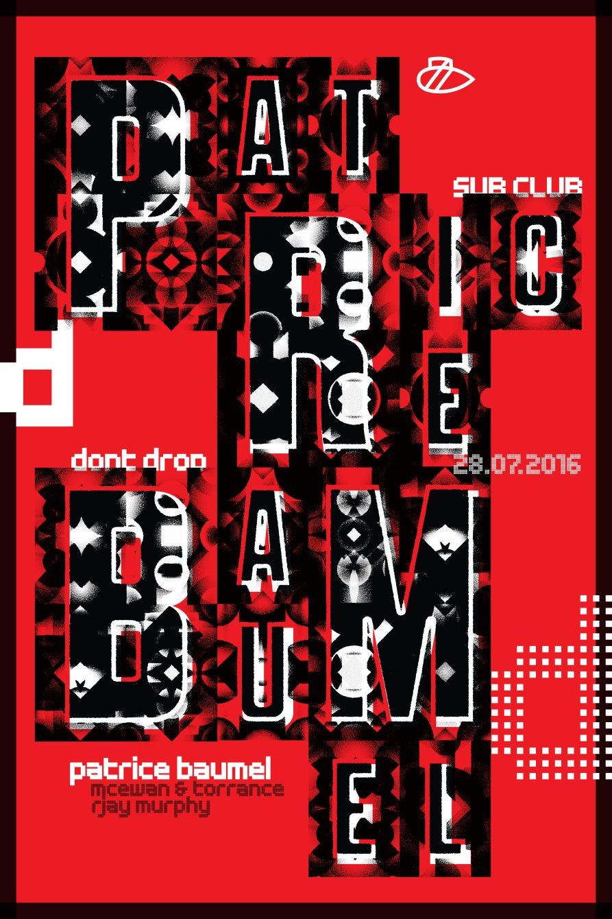 Dont Drop: July - Flyer front