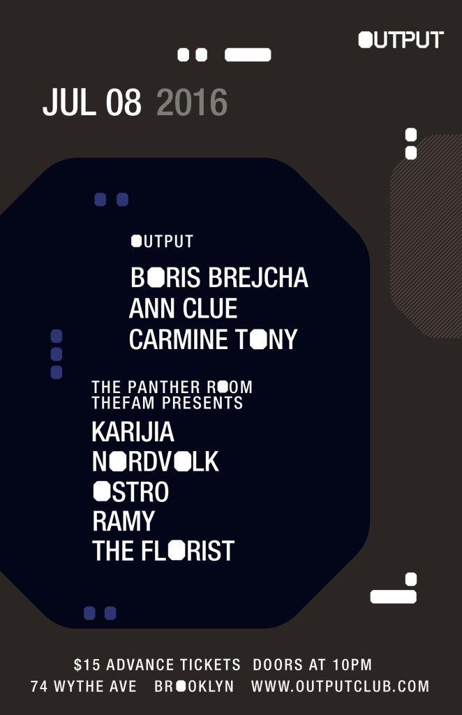 Boris Brejcha/ Ann Clue/ Benny Soto b2b Mike Nervous/ Carmine Tony and Karijia/ Nordvolk - Flyer front