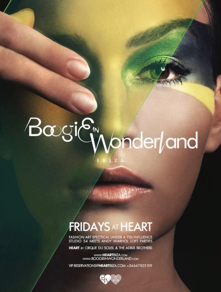 Boogie in Wonderland - Flyer front