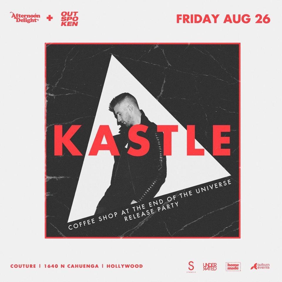 Afternoon Delight & Outspoken present Kastle - Flyer front