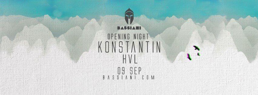 Season Opening Night: Konstantin, HVL - Flyer front