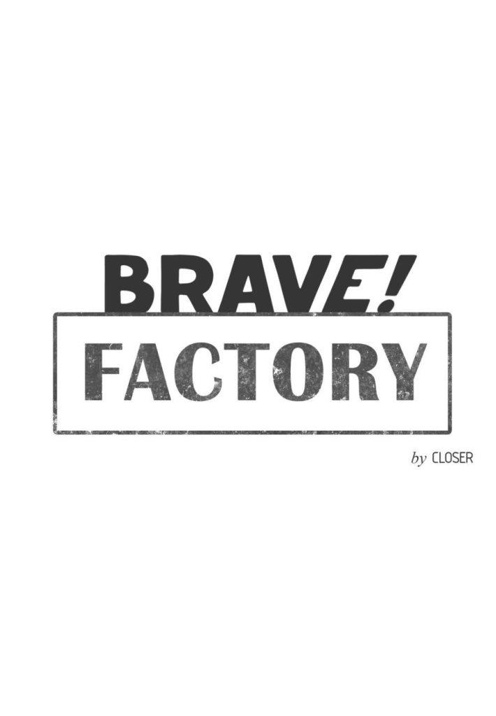 Brave! Factory - Flyer front