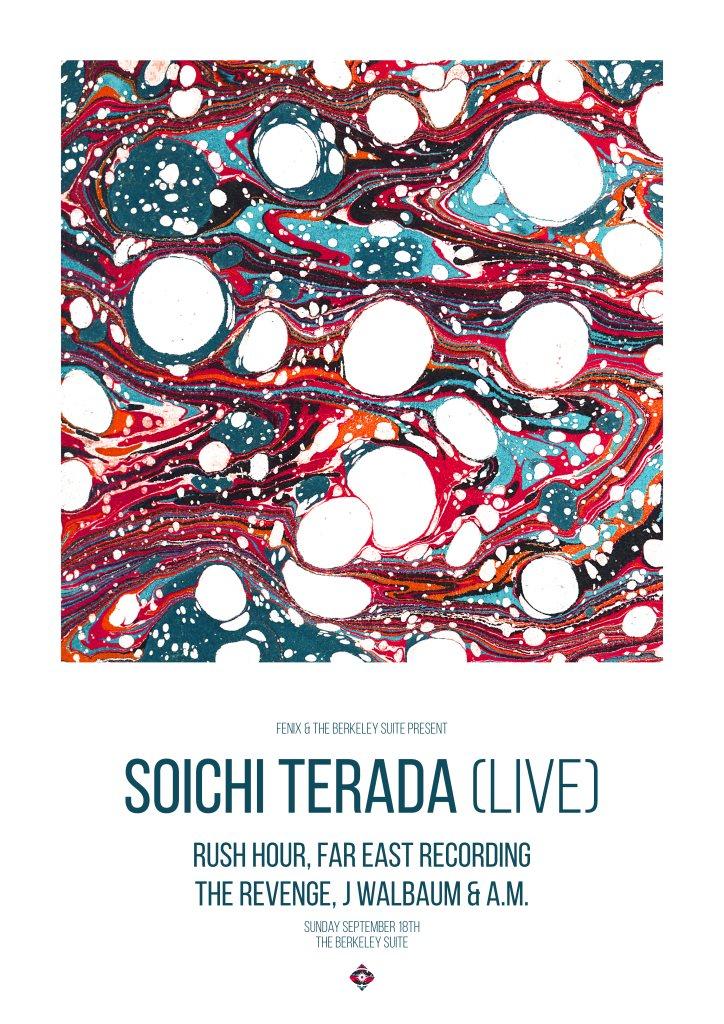 Soichi Terada (Live) + The Revenge - Flyer front
