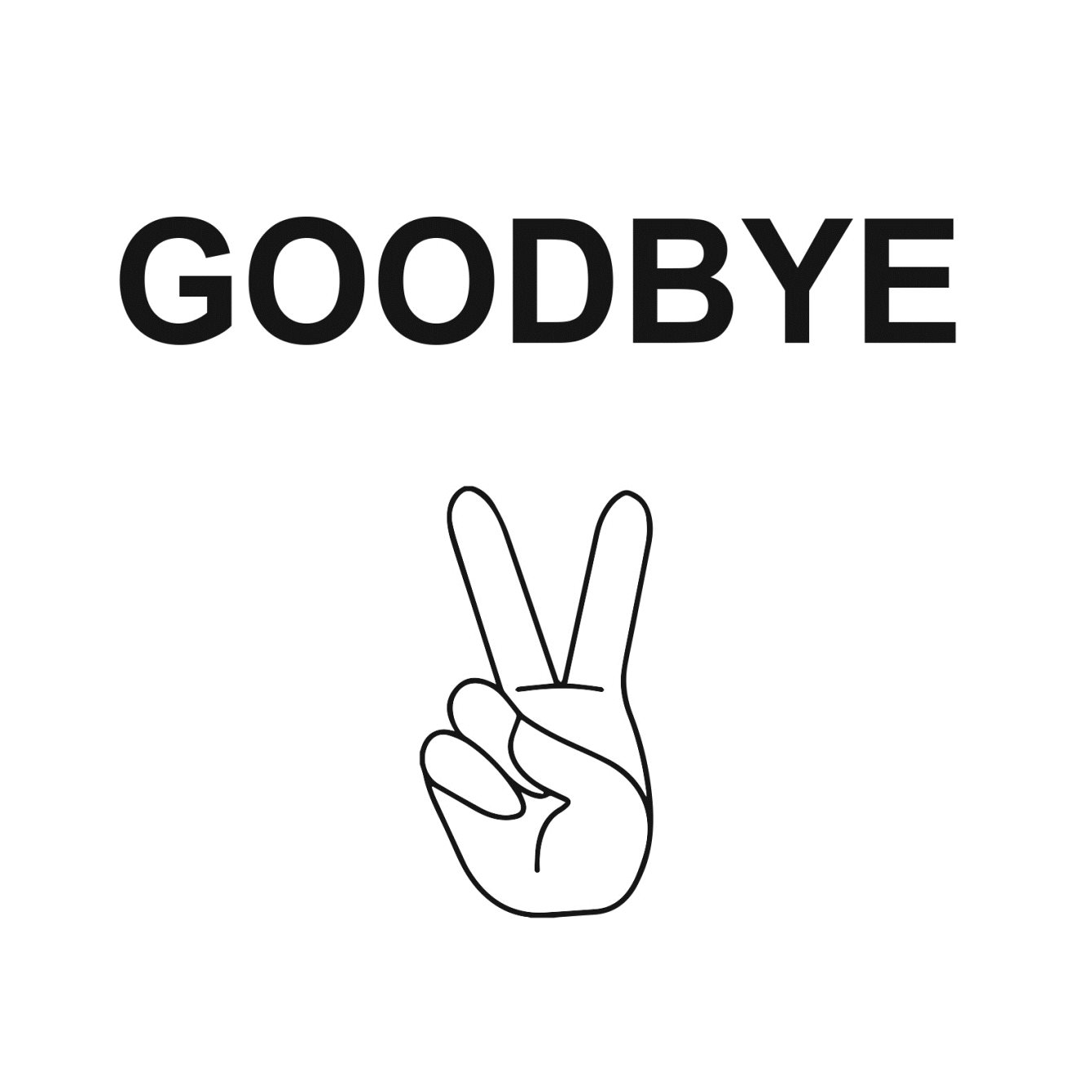 Bass Cadet Recordstore Waves Goodbye - Flyer front