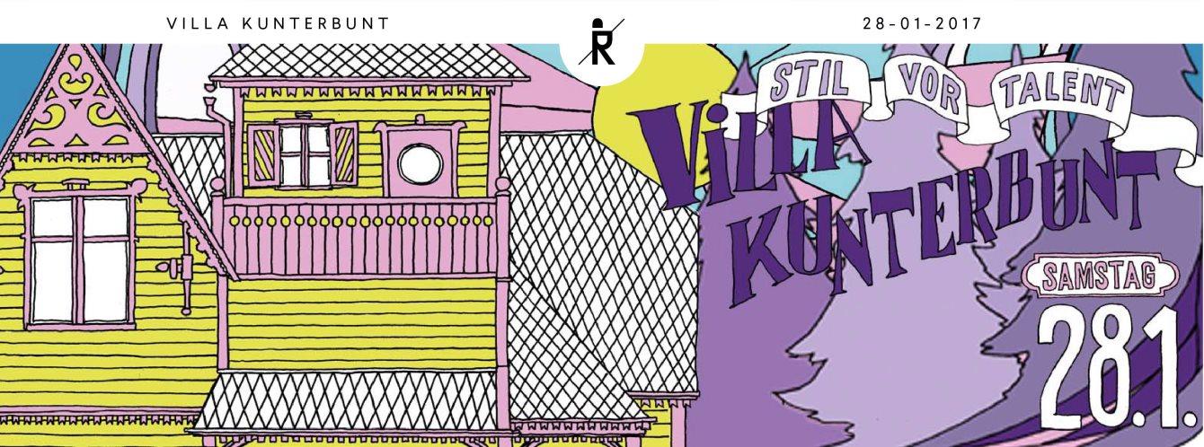 Stil vor Talent's Villa Kunterbunt with Teenage Mutants, Klangkuenstler, a.o - Flyer front