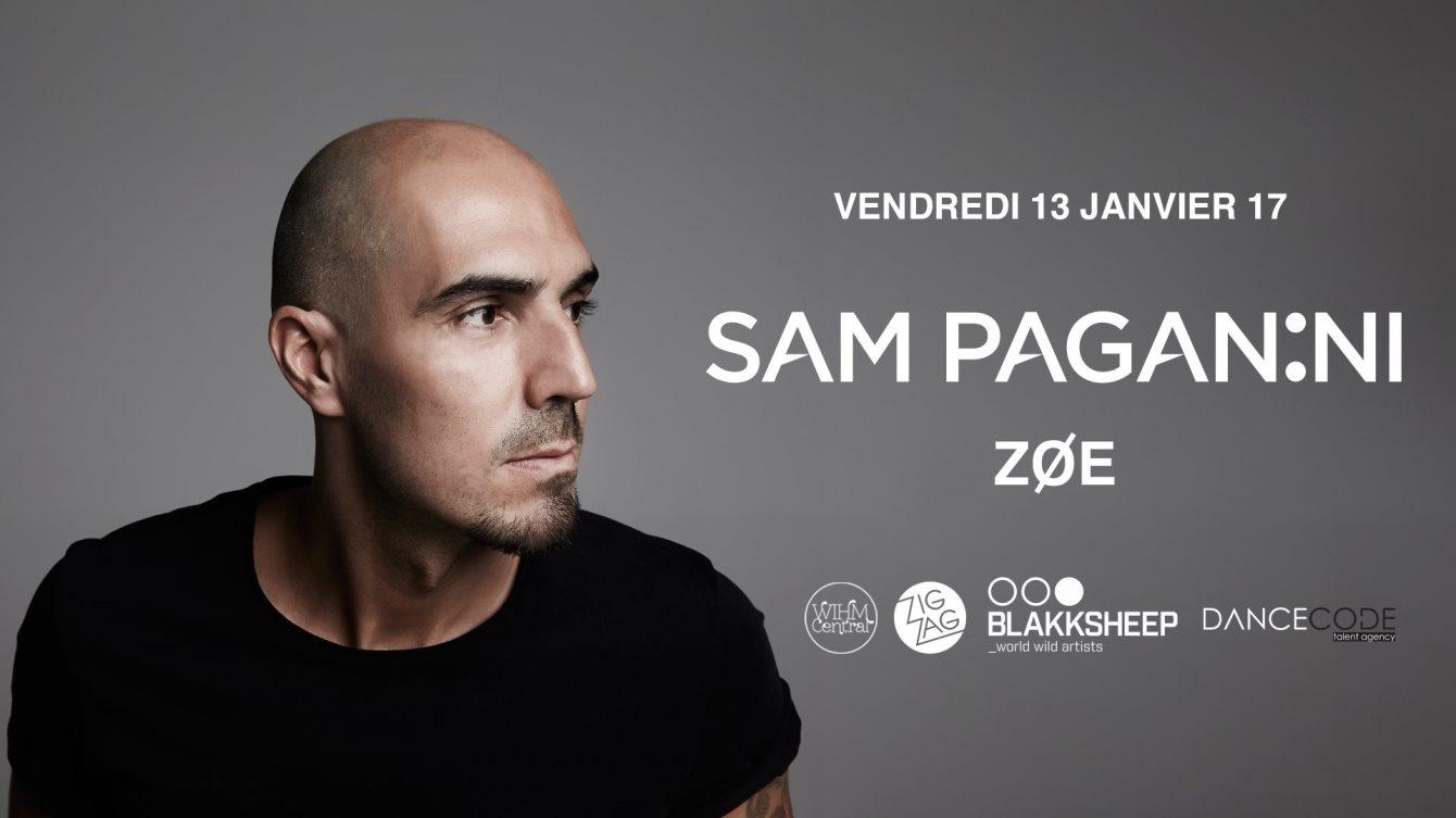 Zig Zag x Sam Paganini, Zoe & Renö - Flyer front