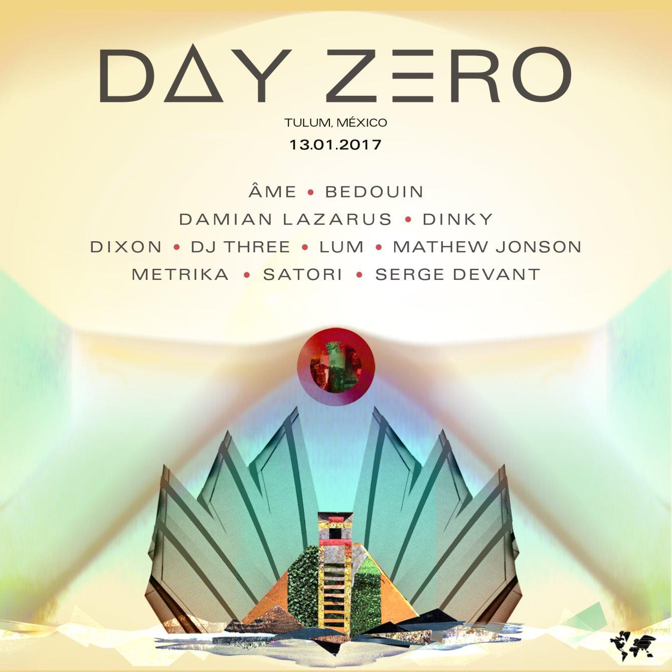 Day Zero - 2017 - Flyer front