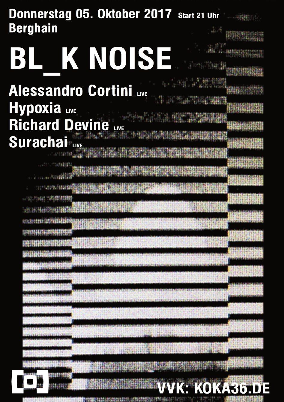 Bl_k Noise - Flyer back