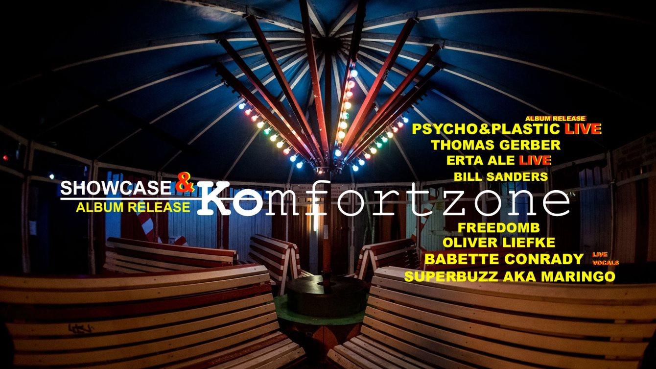 Birgits Komfortzone (Showcase & Release Party) - Flyer front