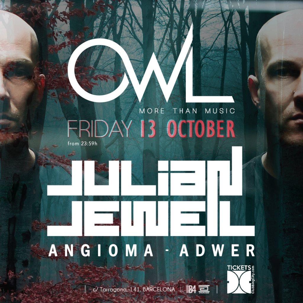 OWL presents Julian Jeweil - Flyer front