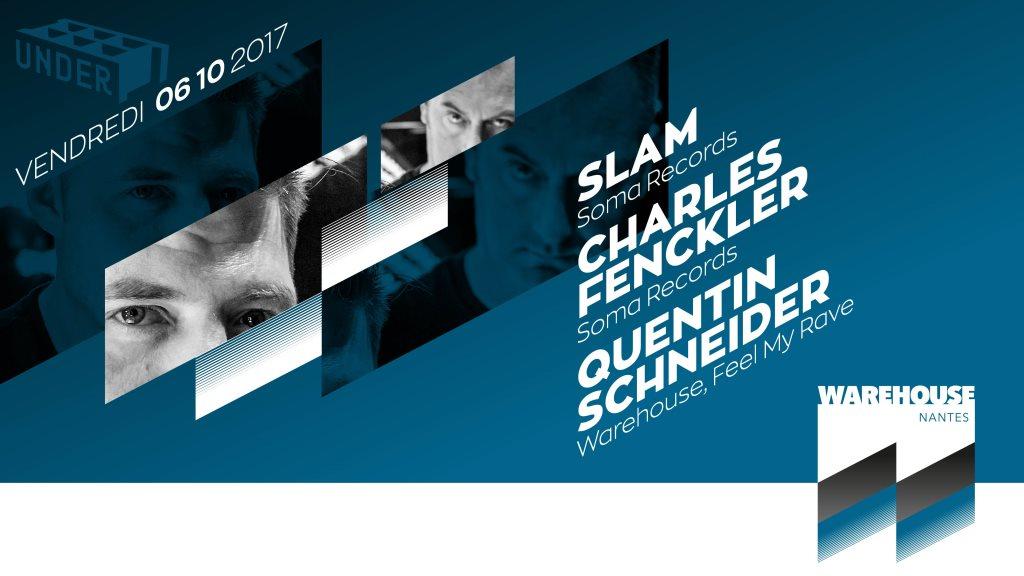 Under. Slam, Charles Fenckler - Flyer front