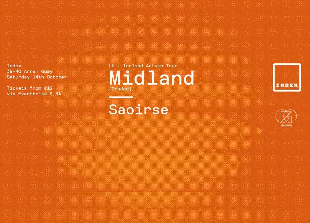 Midland & Saoirse - Flyer front