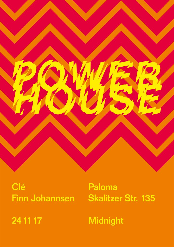 Power House - Flyer front