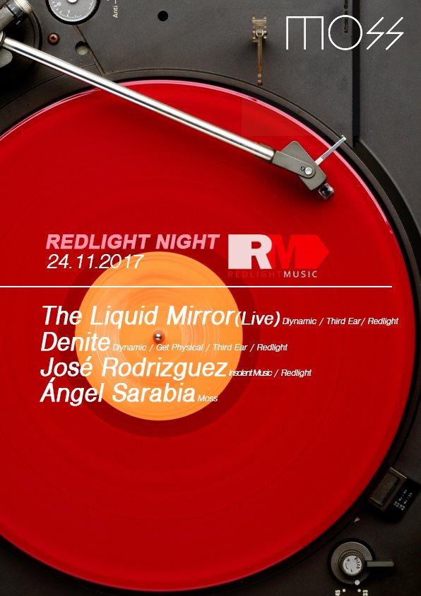 Redlight Night - Flyer front