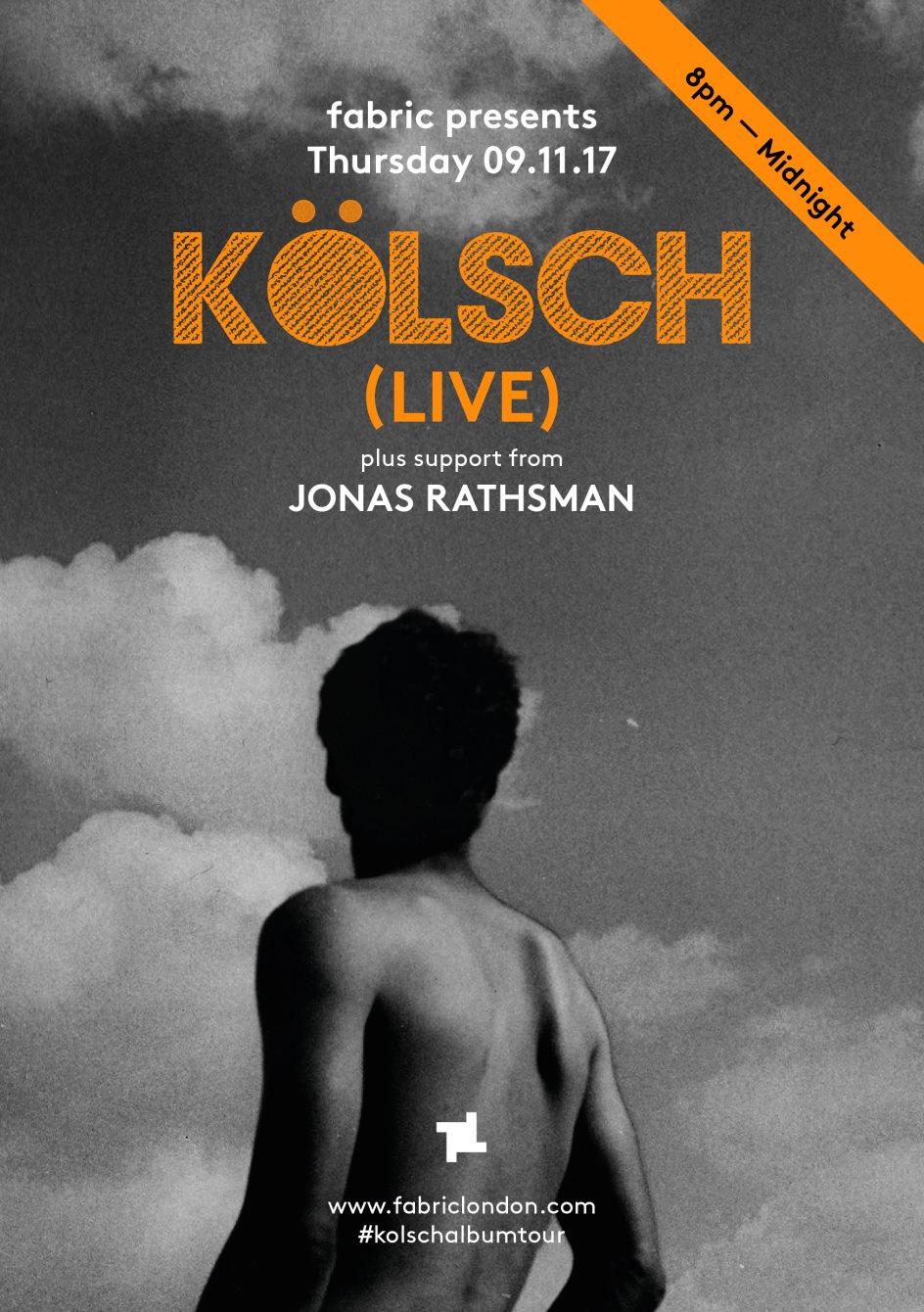 fabric presents: Kolsch (Live) - Flyer back