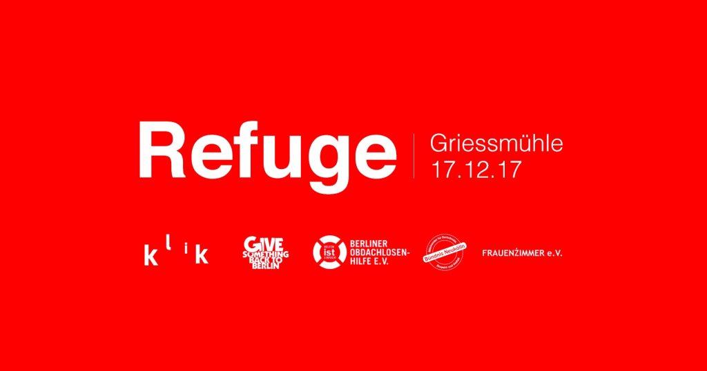 Refuge 2017 - Flyer front
