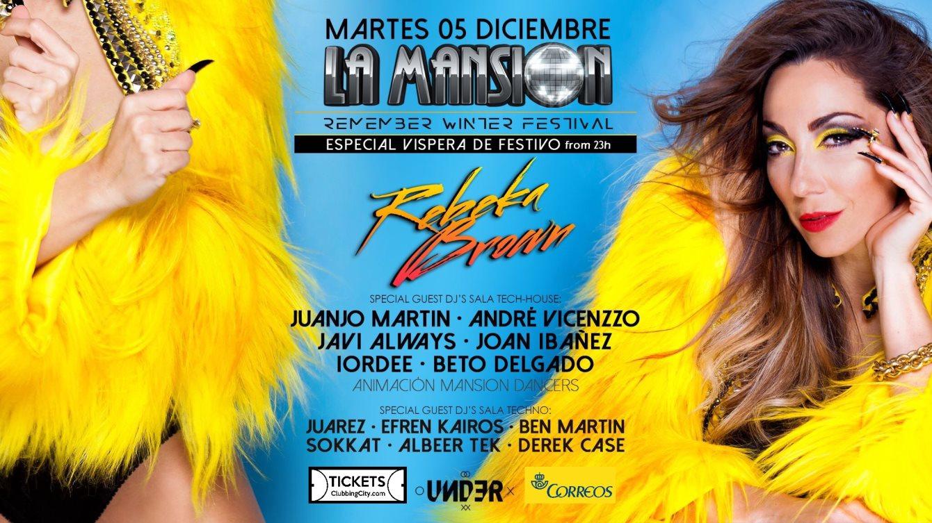 La Mansion Remember Winter Festival - Flyer front
