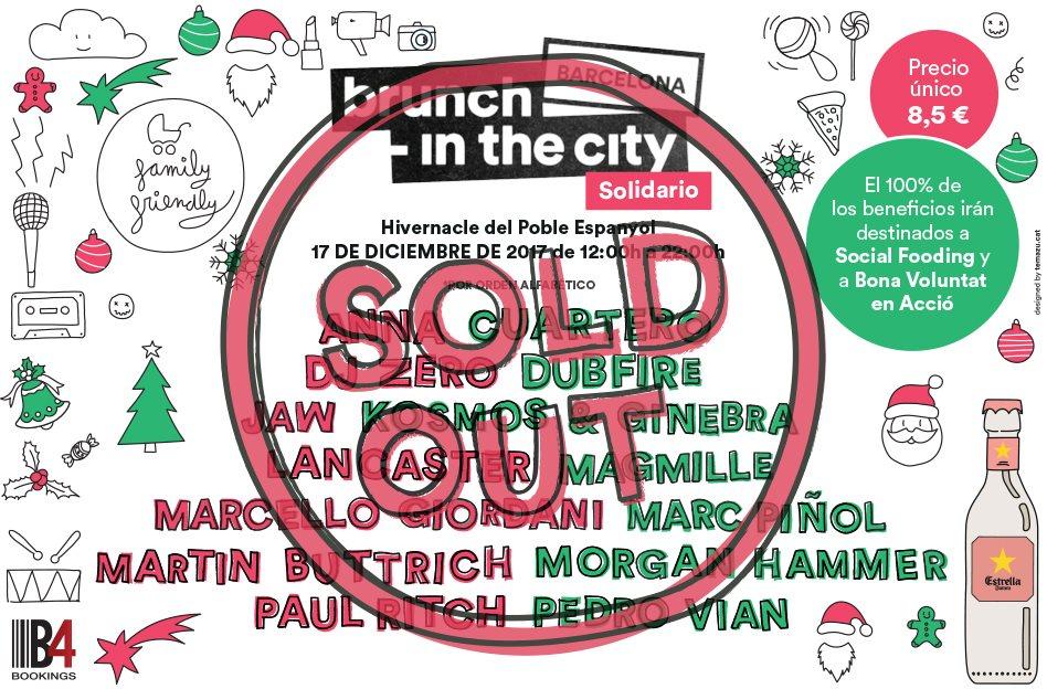 Brunch -In the City Solidario - Flyer back