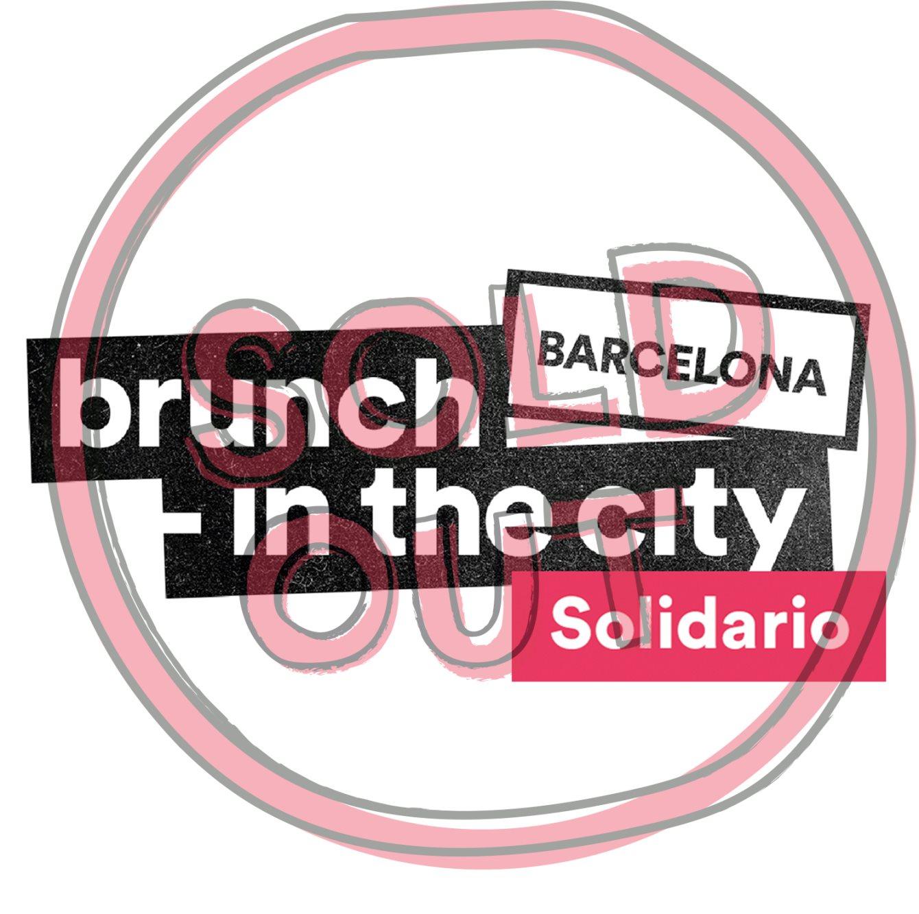 Brunch -In the City Solidario - Flyer front