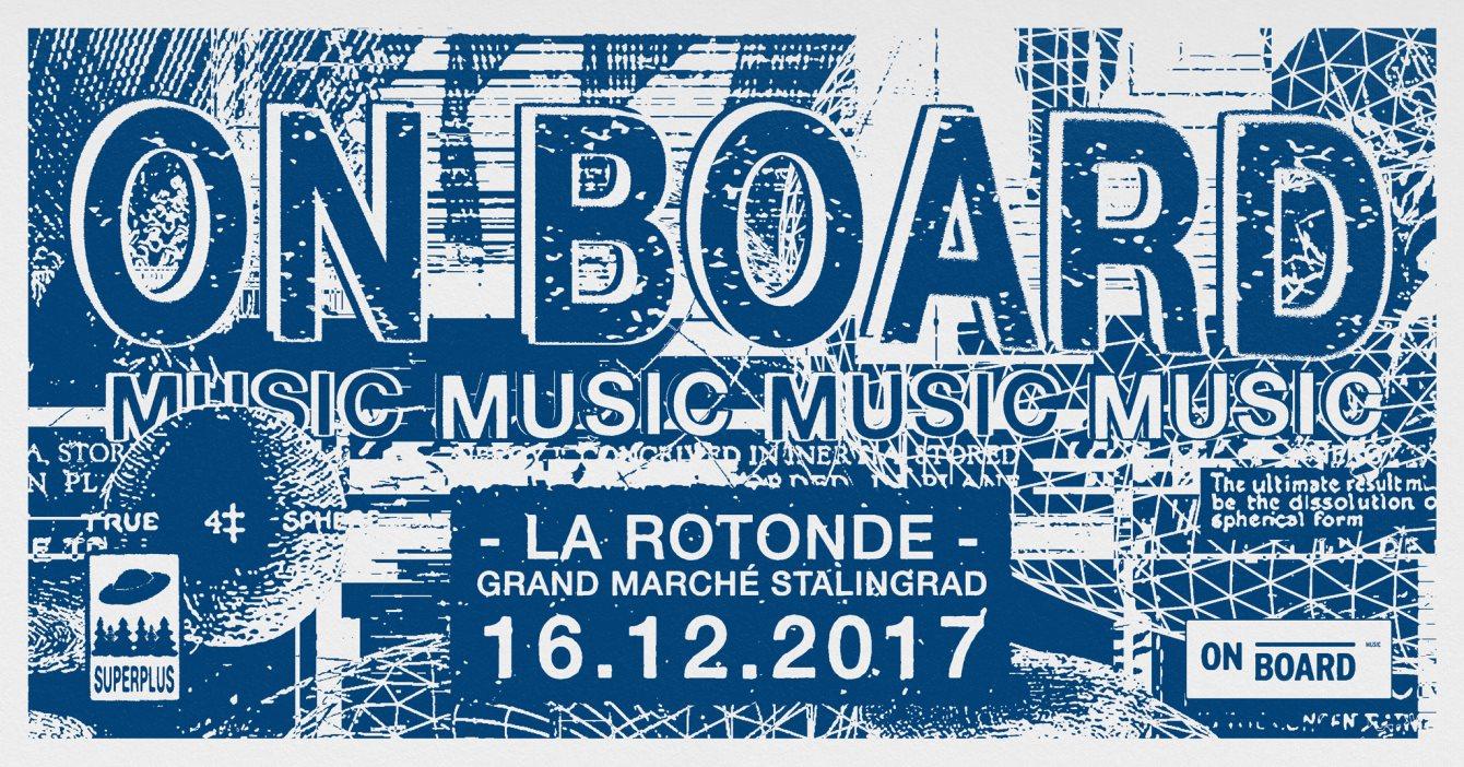 On Board Music Pres: Natascha Kann (://About Blank - Berlin), Martijn Verrycken et Laura BCR - Flyer front