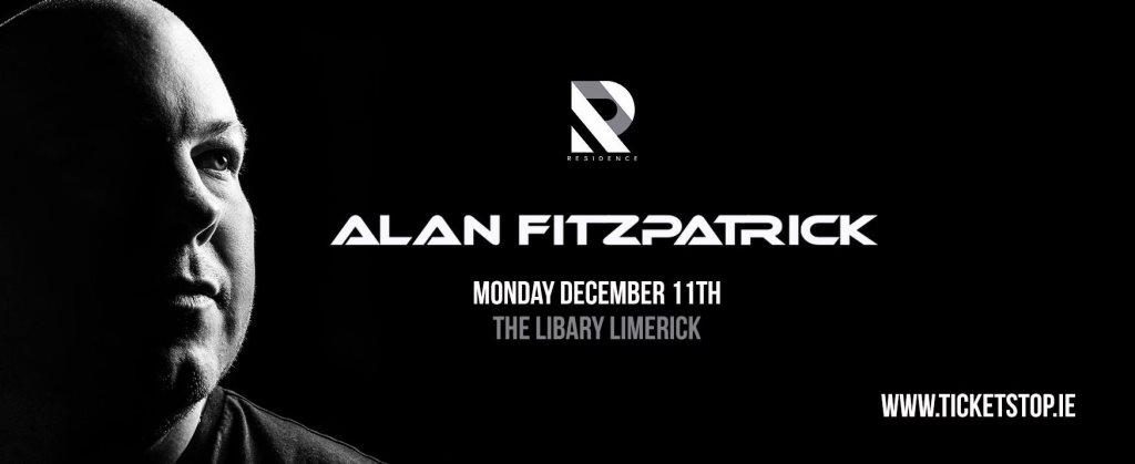 Residence present Alan Fitzpatrick - Flyer front