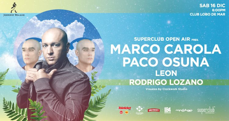Superclub Open Air - Flyer front