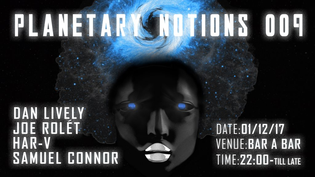 Planetary Notions 009 - Flyer front