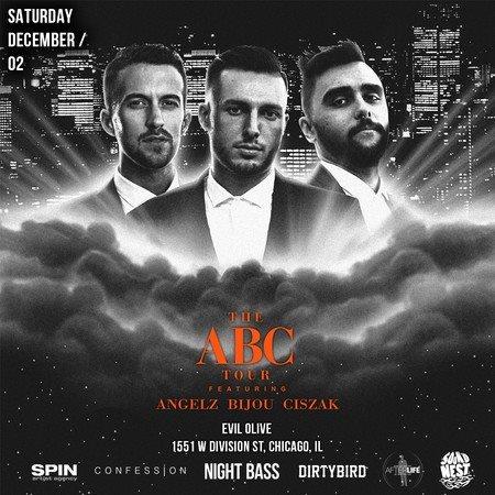 The ABC Tour - Flyer front