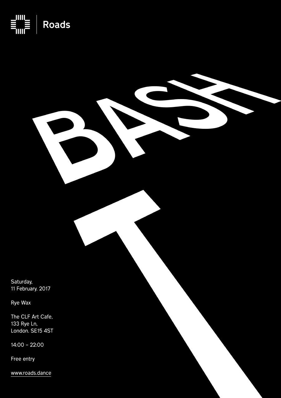 Roads 05: Bash & T - Flyer front