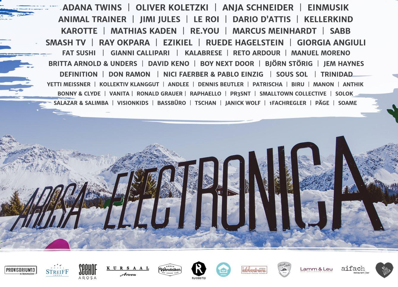Arosa Electronica 2017 - Flyer back