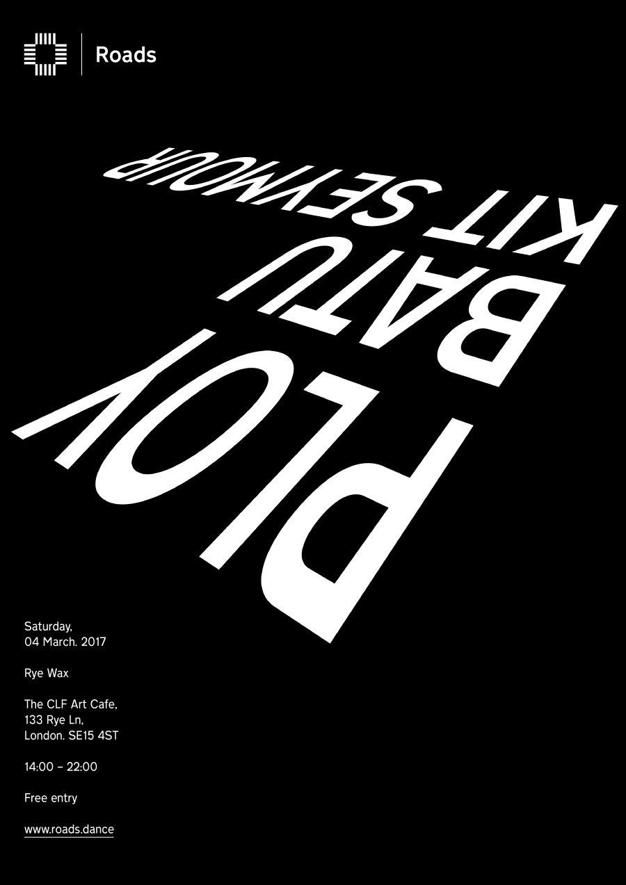 Roads 06: Ploy & Friends - Flyer front