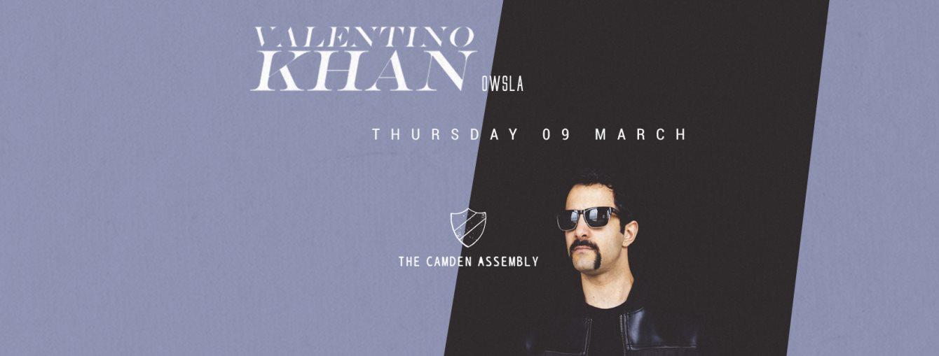 Valentino Khan + Sister - Flyer front