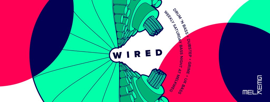 Wired: Pythius / Gomes / Lifecycle / Sweepa - Flyer front
