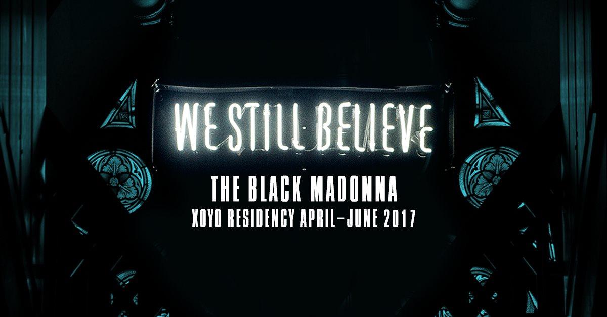 The Black Madonna + Midland + Artwork - Flyer front