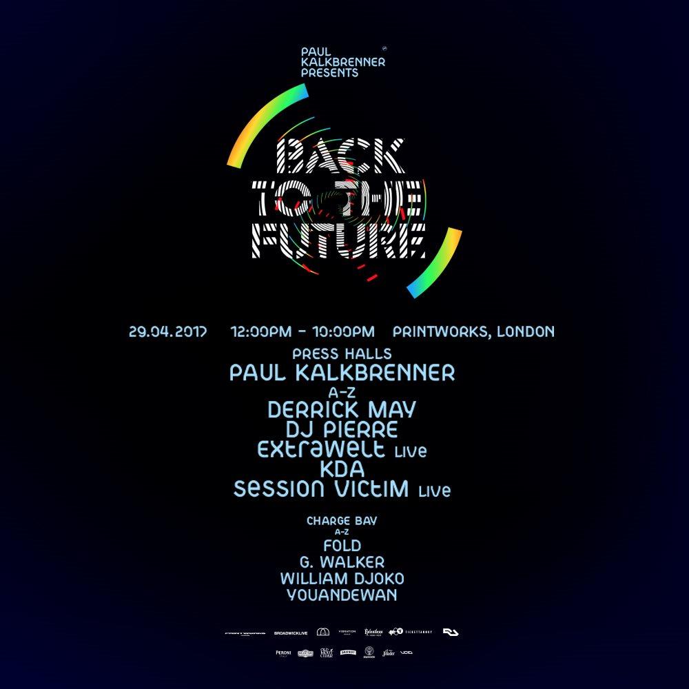 Paul Kalkbrenner presents - Flyer front