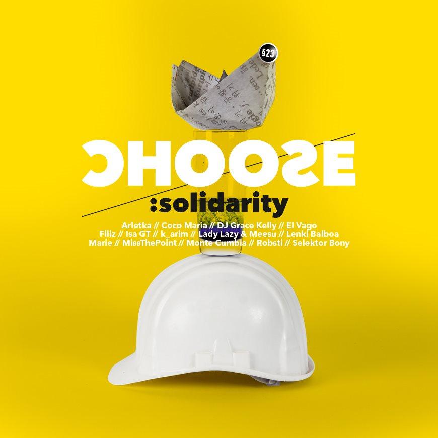Choose:Solidarity - Flyer front