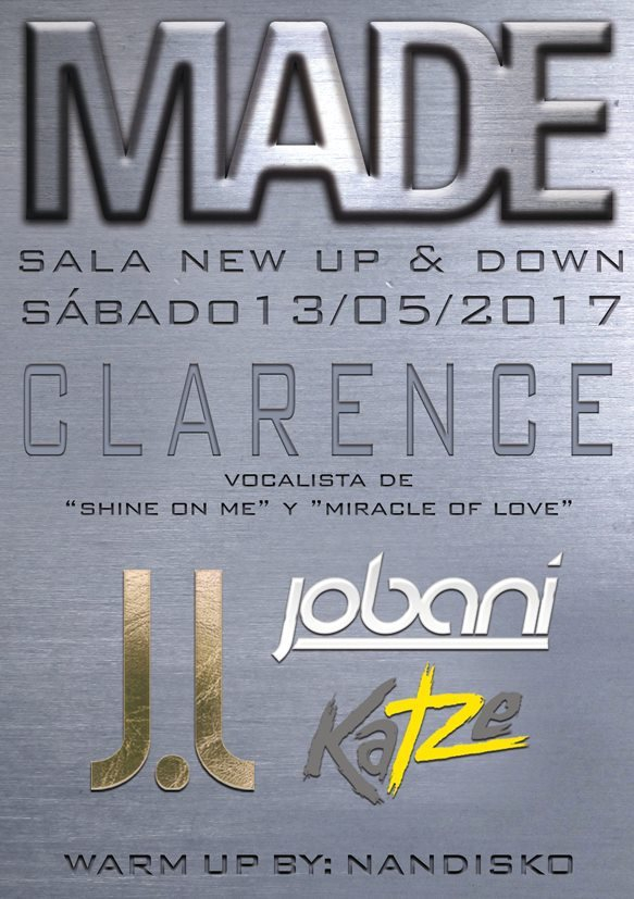 Made by SVN Barcelona: Clarence, J.Louis, Jobani... - Flyer front
