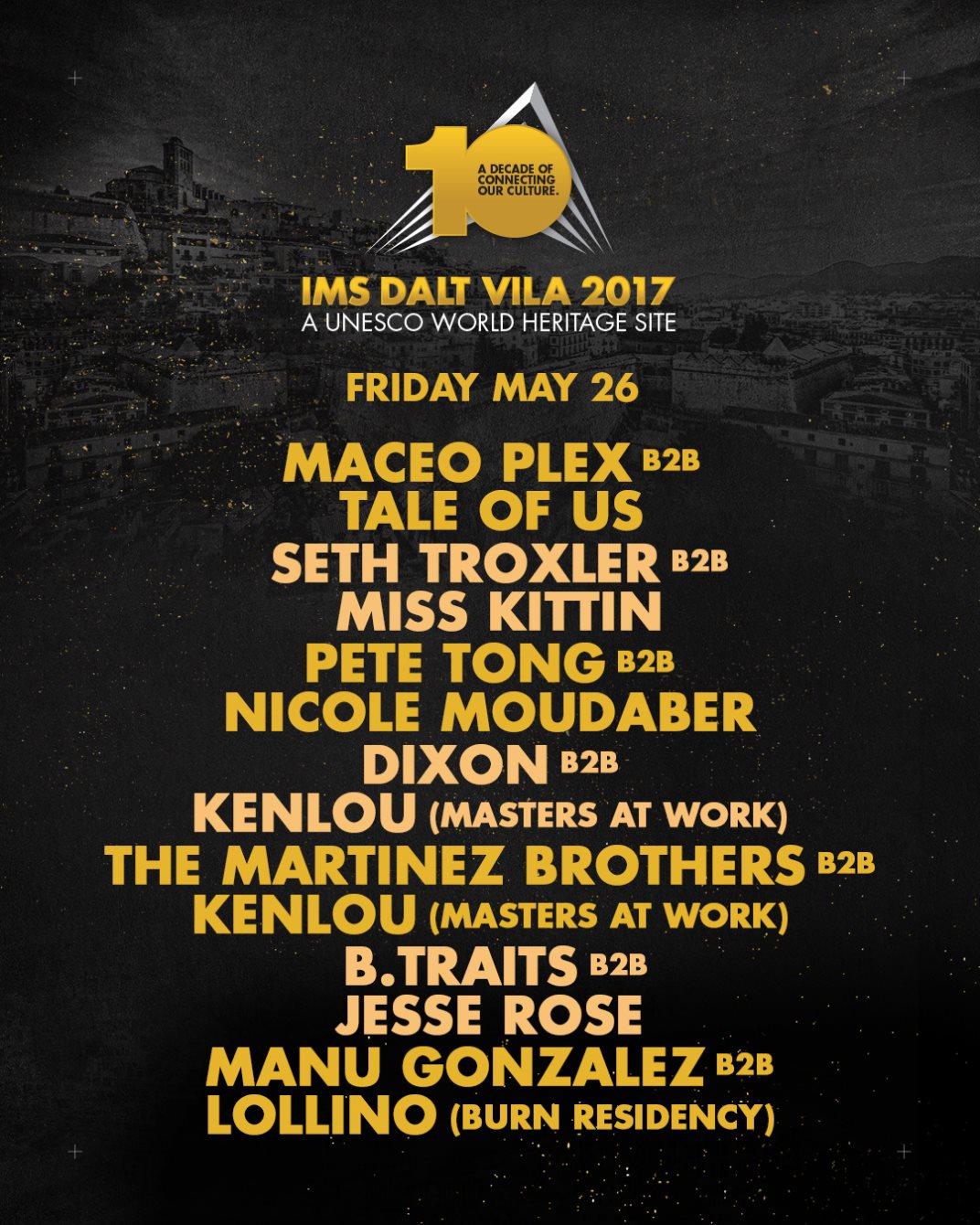IMS Dalt Vila 2017 - Flyer front