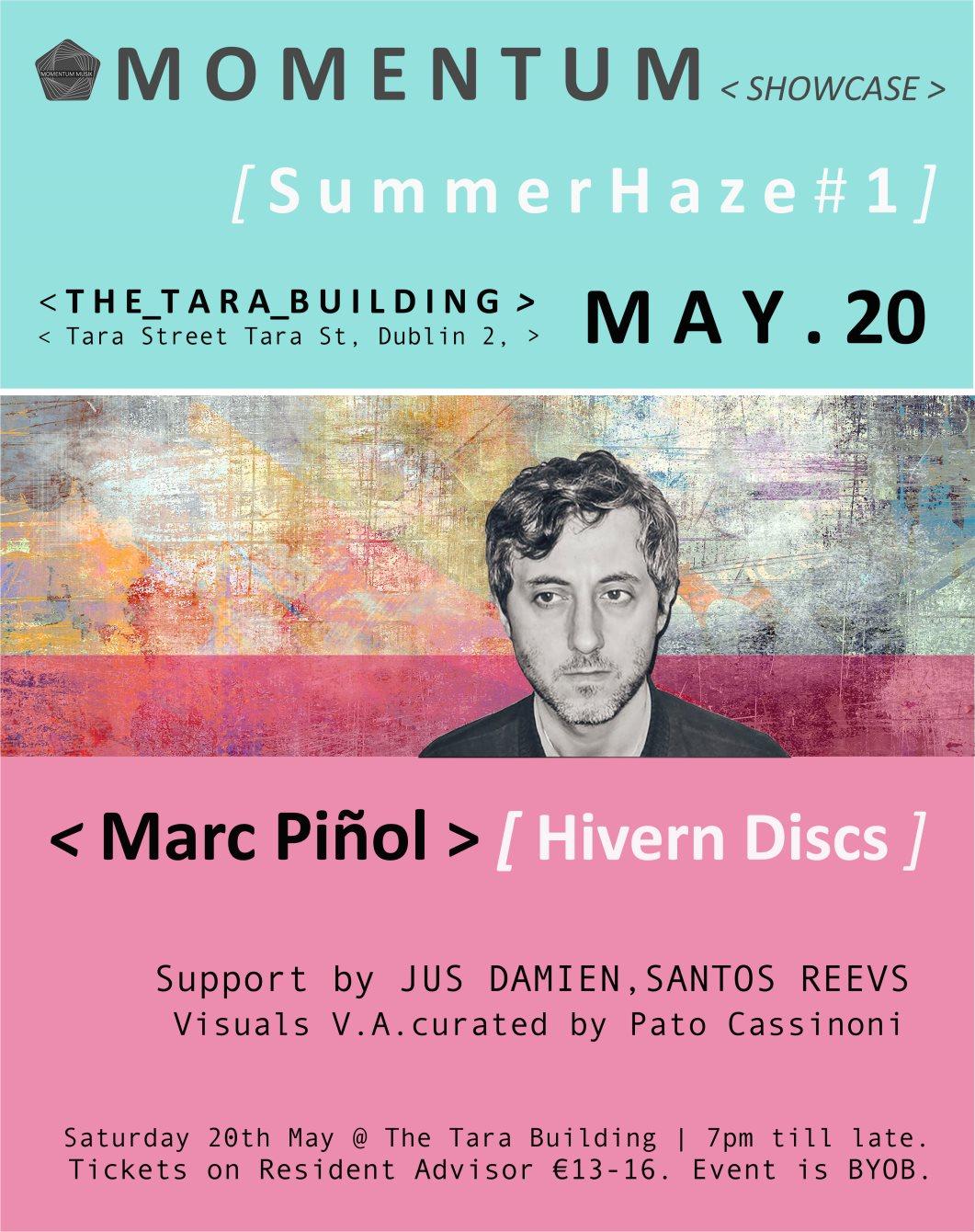 Marc Piñol Summer Haze #1 - Flyer front