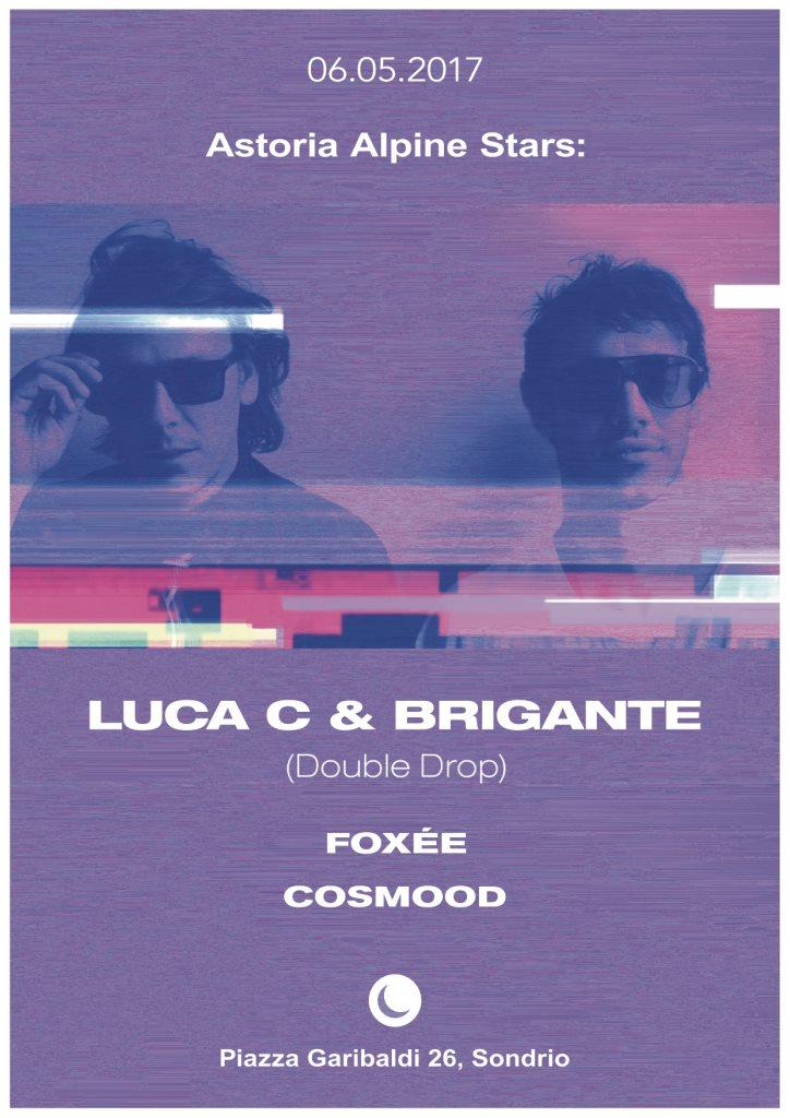 Astoria Alpine Stars: Luca C & Brigante - Flyer front