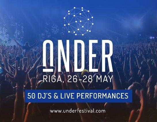 Under Festival - Flyer front