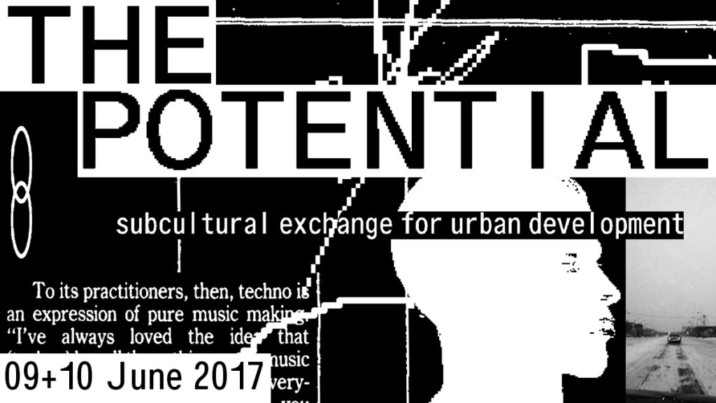 The Potential - Flyer front