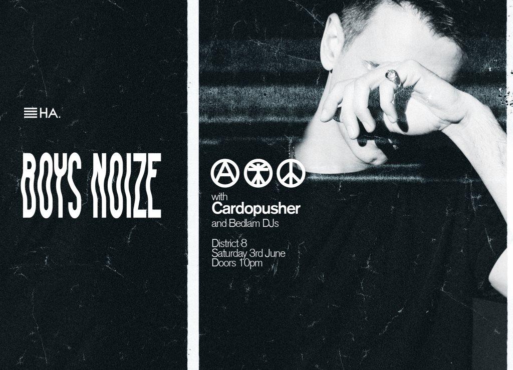 Boys Noize - Flyer front
