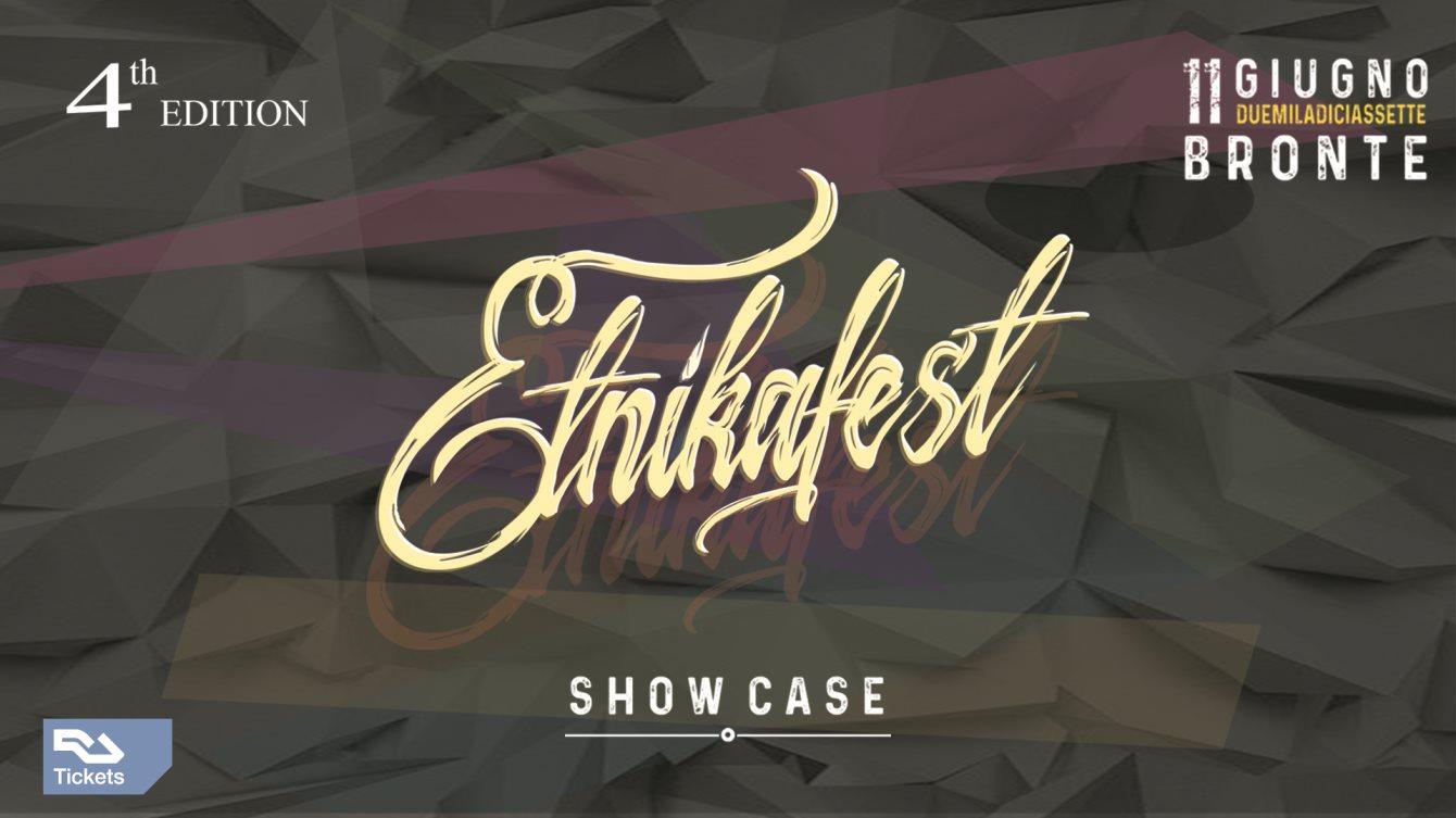 Etnikafest 017 - Flyer front